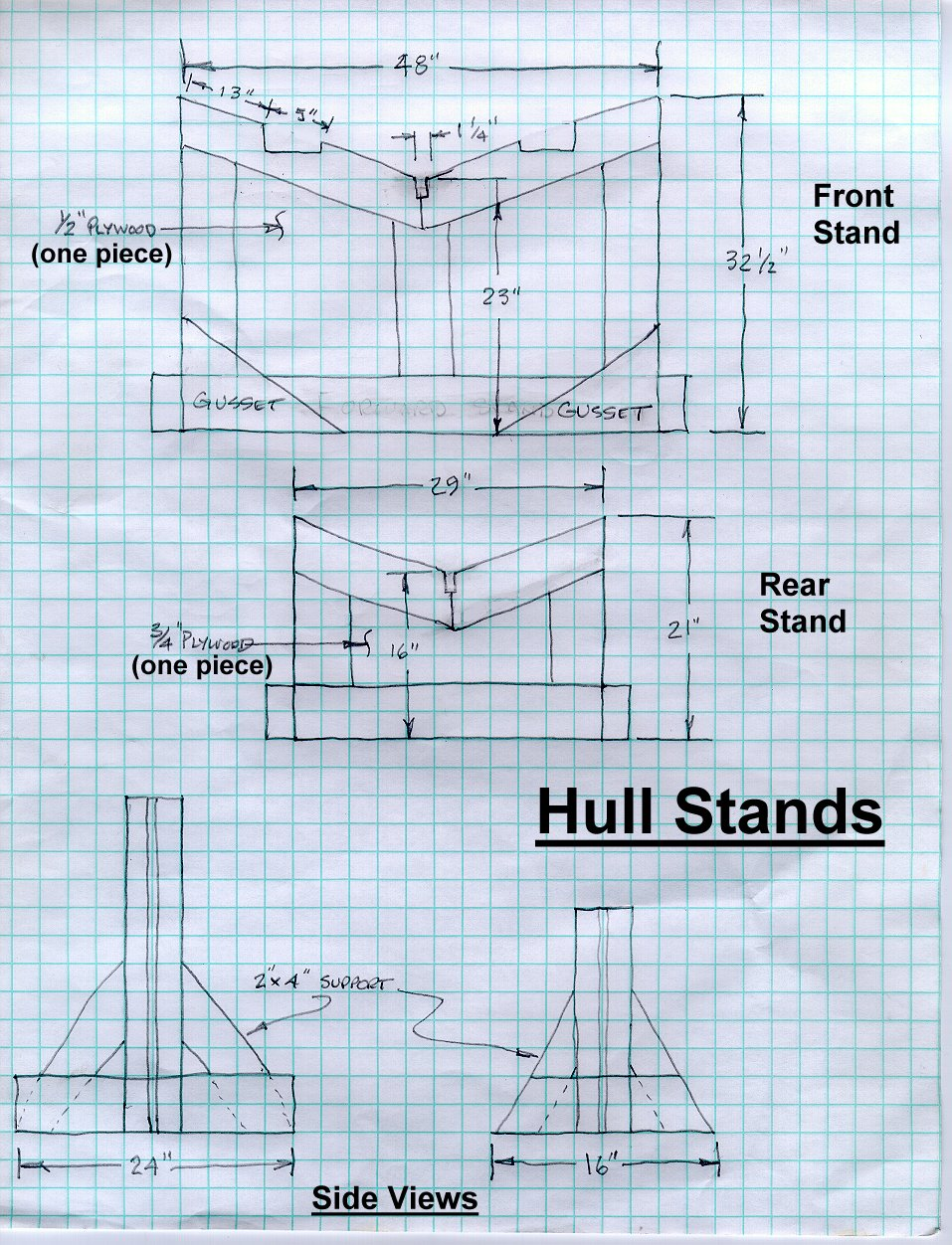 Hull Stand